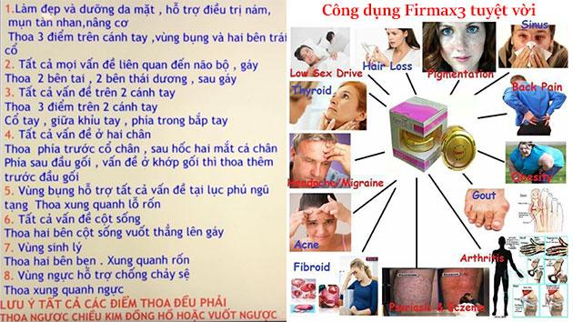 Công dụng firmax3
