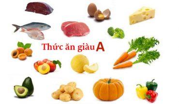Thức ăn giàu vitamin A
